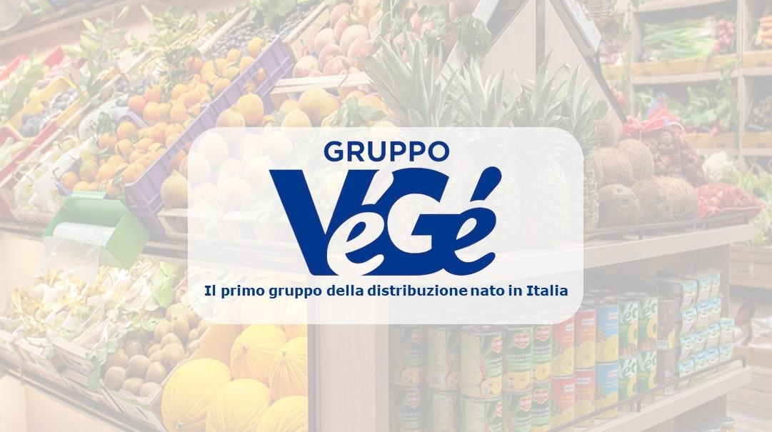 Logo Gruppo VéGé il primo gruppo della distribuzione nato in Italia GDO