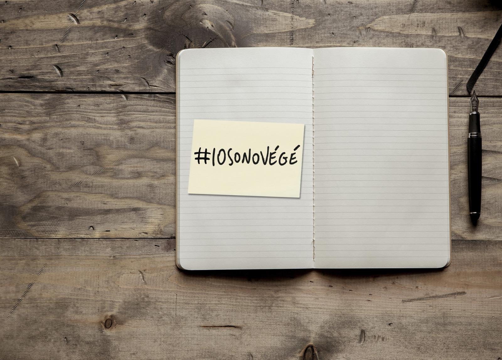 Hashtag #iosonovegé