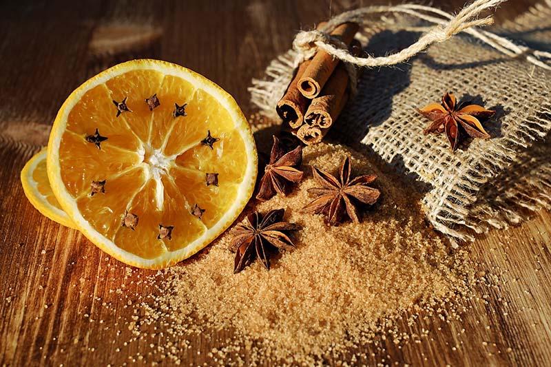 Profumatore casa arancia e cannella