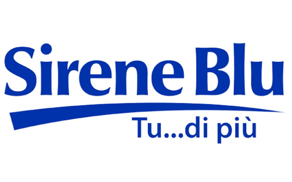 Logo Sirene Blu GDO (Grande Distribuzione Organizzata)