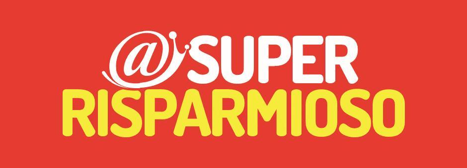 Logo @ Super Risparmioso GDO (Grande Distribuzione Organizzata)