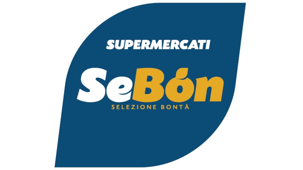 Logo Supermercati SeBòn GDO (Grande Distribuzione Organizzata)