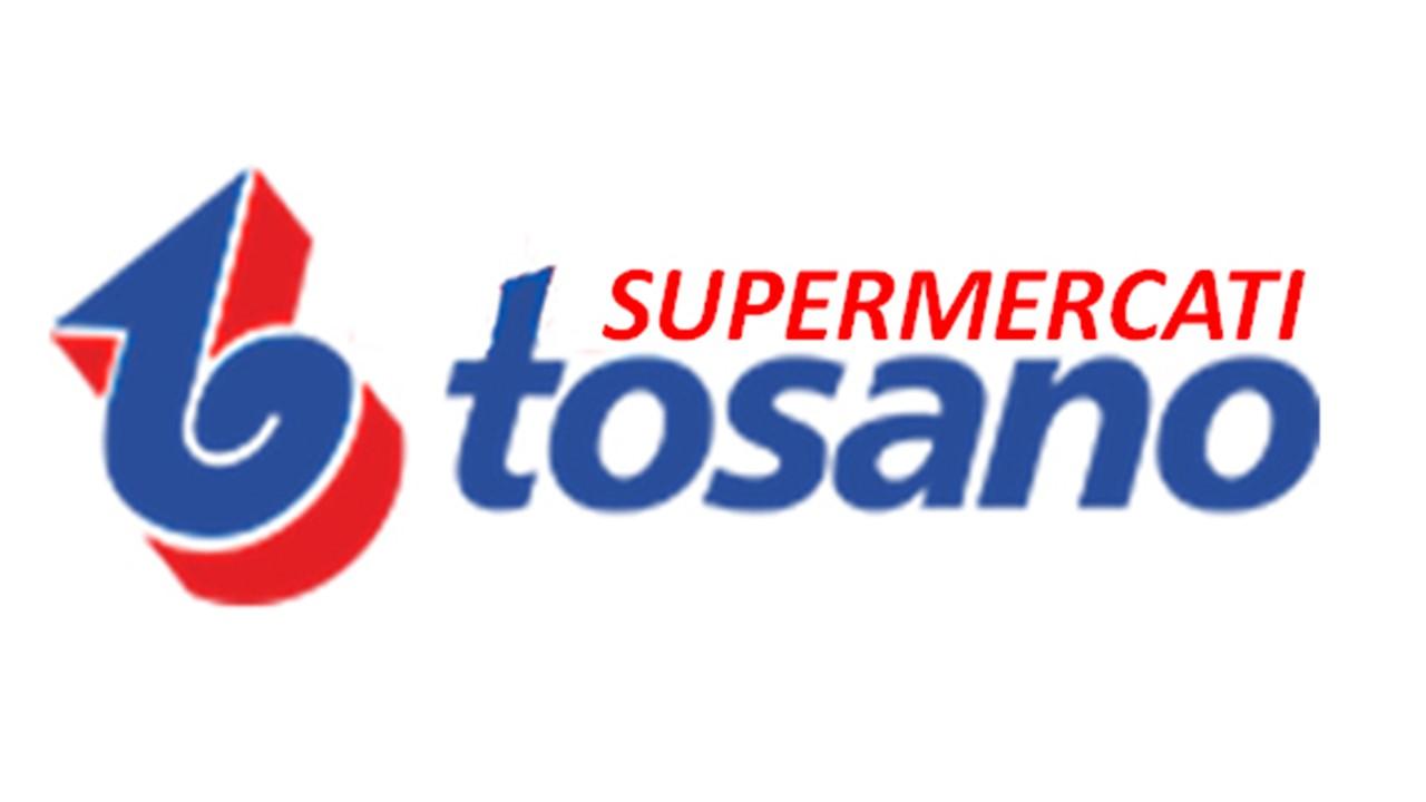 Logo Tosano supermercati GDO (Grande Distribuzione Organizzata)