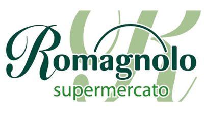 Logo Romagnolo supermercato GDO (Grande Distribuzione Organizzata)