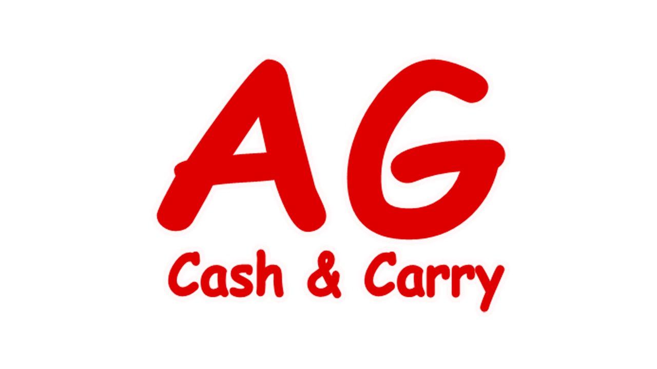 Logo AG cash & carry GDO (Grande Distribuzione Organizzata)