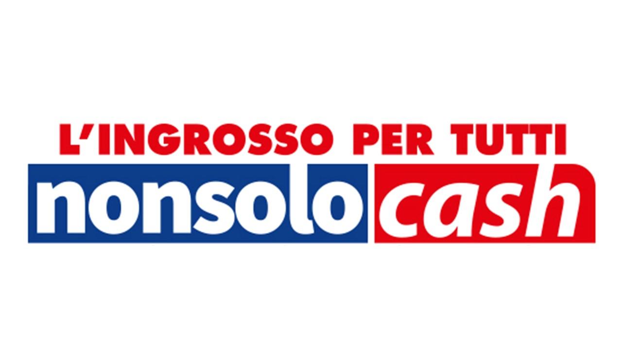 Logo non solo cash GDO (Grande Distribuzione Organizzata)