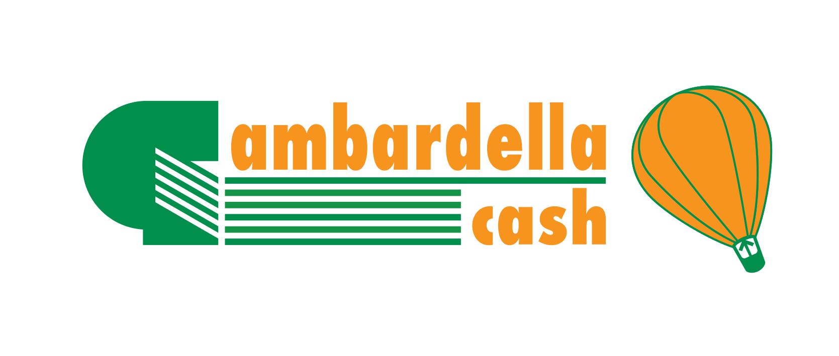 Logo Gambardella cash GDO (Grande Distribuzione Organizzata)