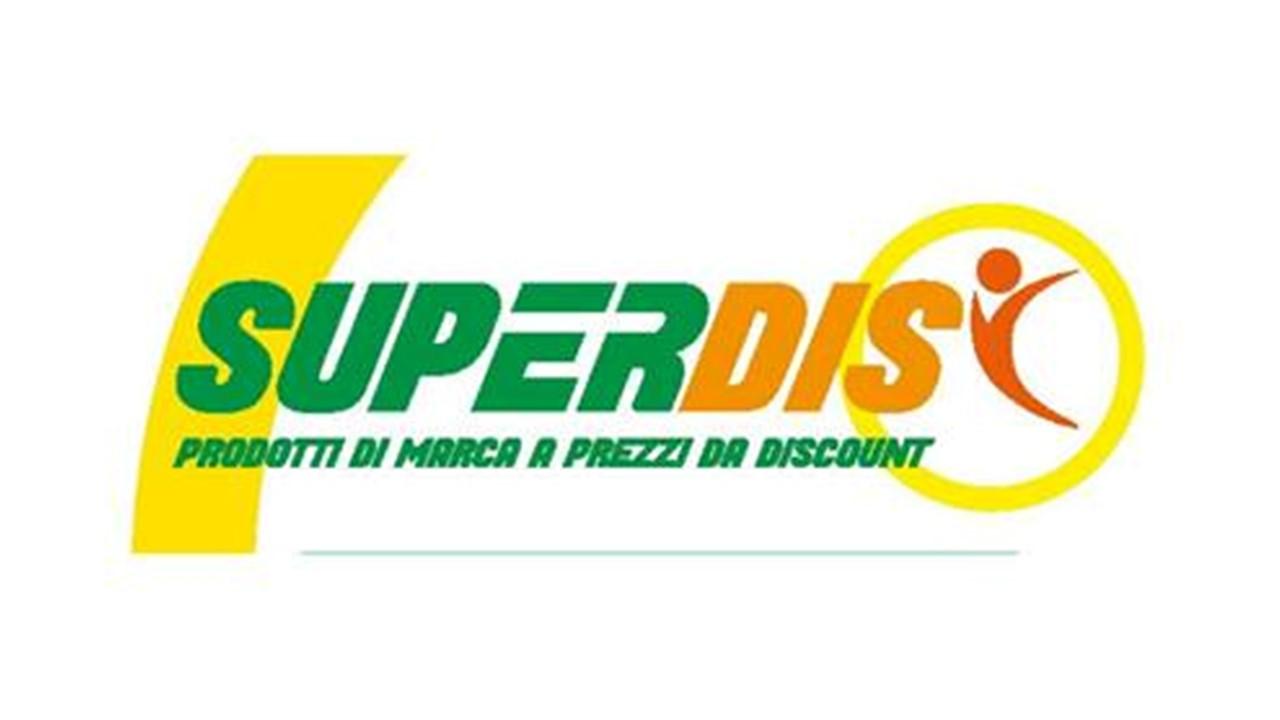 Logo Superdis GDO (Grande Distribuzione Organizzata)