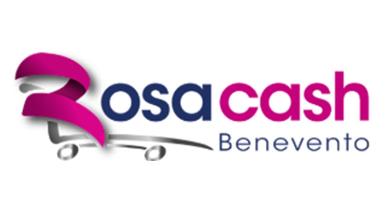 Logo Rosacash Benevento GDO (Grande Distribuzione Organizzata)