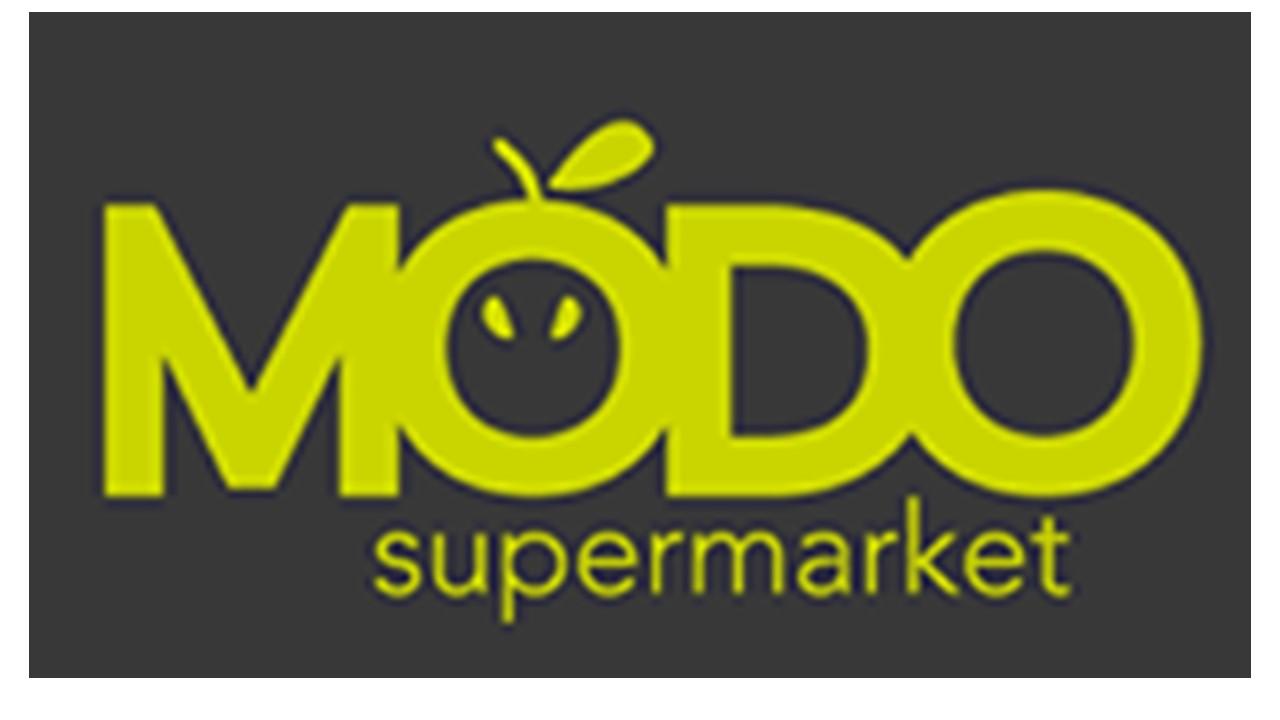 Logo Modo supermarket GDO (Grande Distribuzione Organizzata)