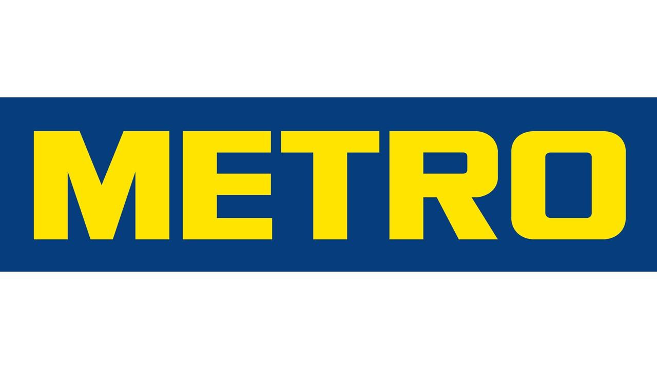Logo Metro GDO (Grande Distribuzione Organizzata)