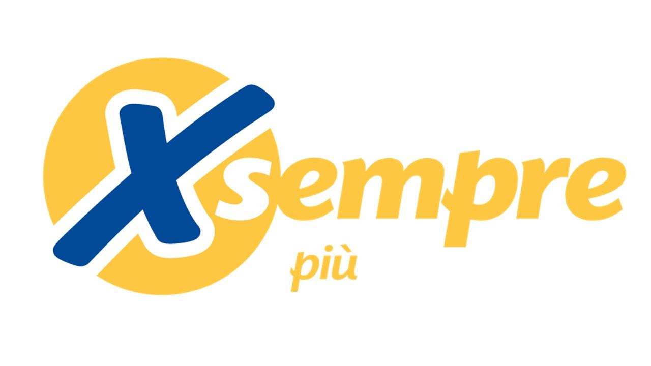 Logo X sempre più GDO (Grande Distribuzione Organizzata)