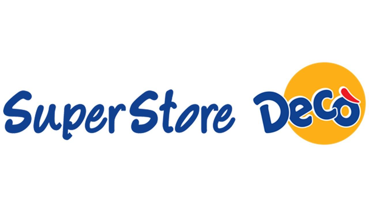 Logo Decò Superstore GDO (Grande Distribuzione Organizzata)