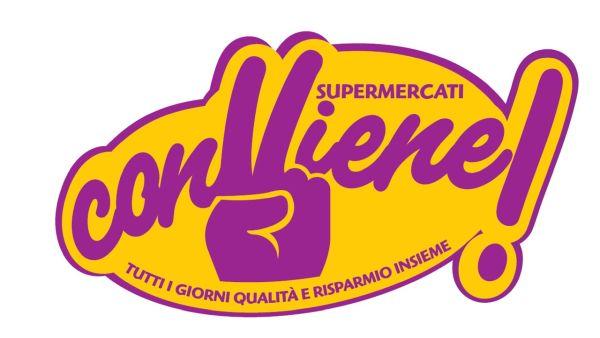 Logo Conviene supermercati GDO (Grande Distribuzione Organizzata)