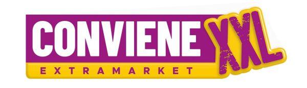 Logo Conviene extramarket XXL GDO (Grande Distribuzione Organizzata)