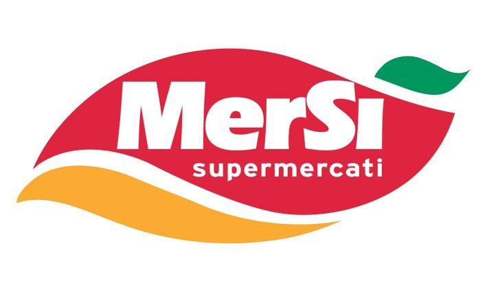 Logo Mersi supermercati GDO (Grande Distribuzione Organizzata)