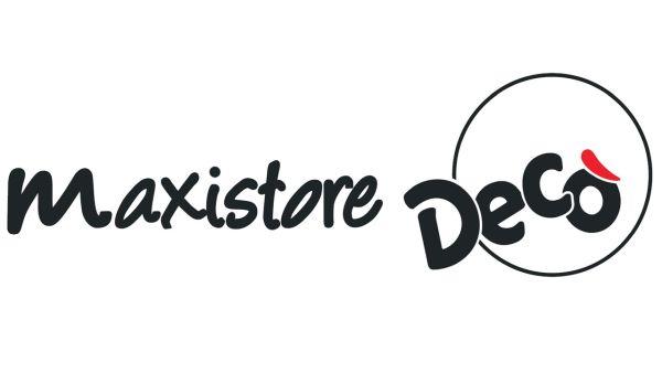 Logo Maxistore Decò GDO (Grande Distribuzione Organizzata)