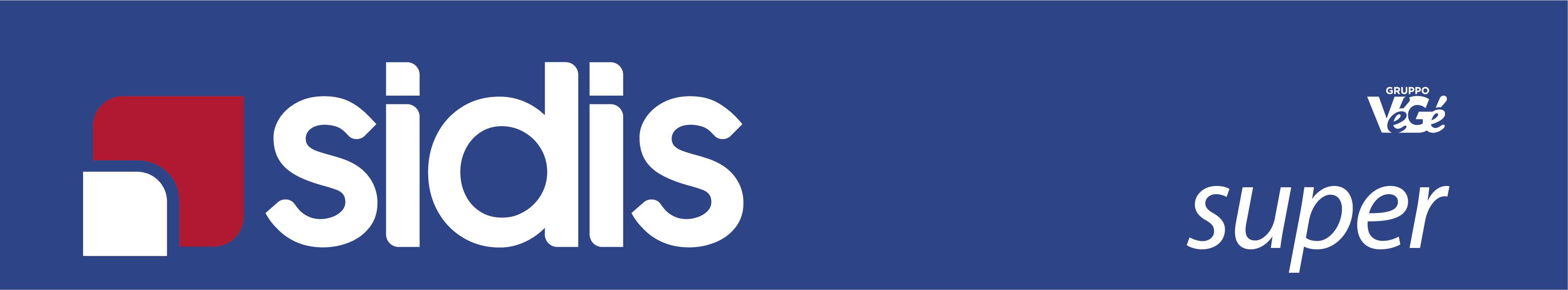 Logo Sidis super GDO (Grande Distribuzione Organizzata)