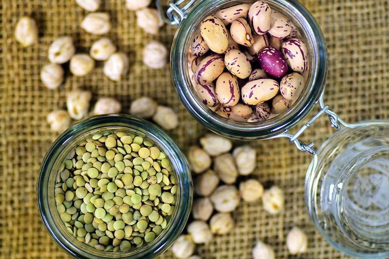 Legumi secchi (lenticchie, ceci, fagioli)