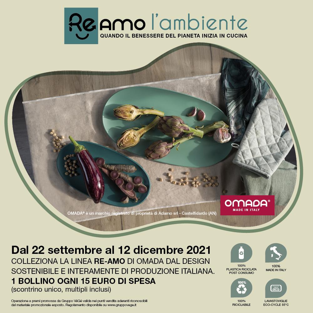 Banner bollini Re-Amo l'ambiente