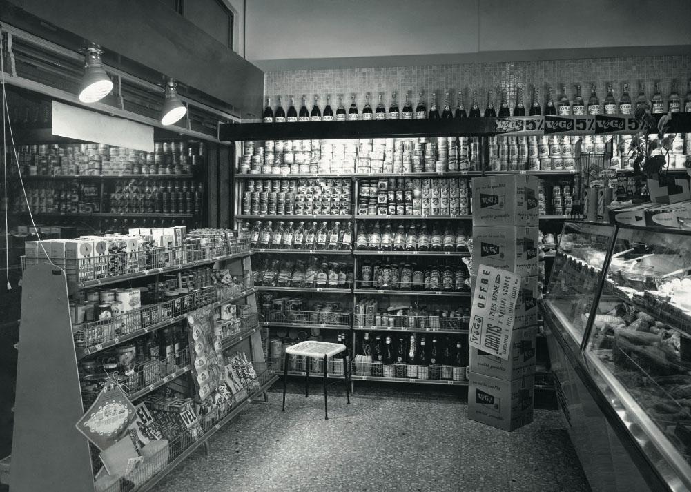 Storia esposizione prodotti GDO (Grande Distribuzione Organizzata)