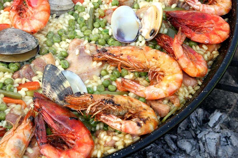 Paella di pesce (Spagna)
