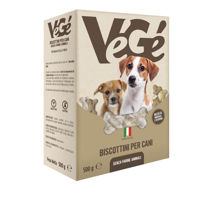 Biscotti per cani Vegé GDO (Grande Distribuzione Organizzata)