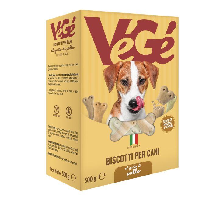 Biscotti per cani al pollo Vegé GDO (Grande Distribuzione Organizzata)