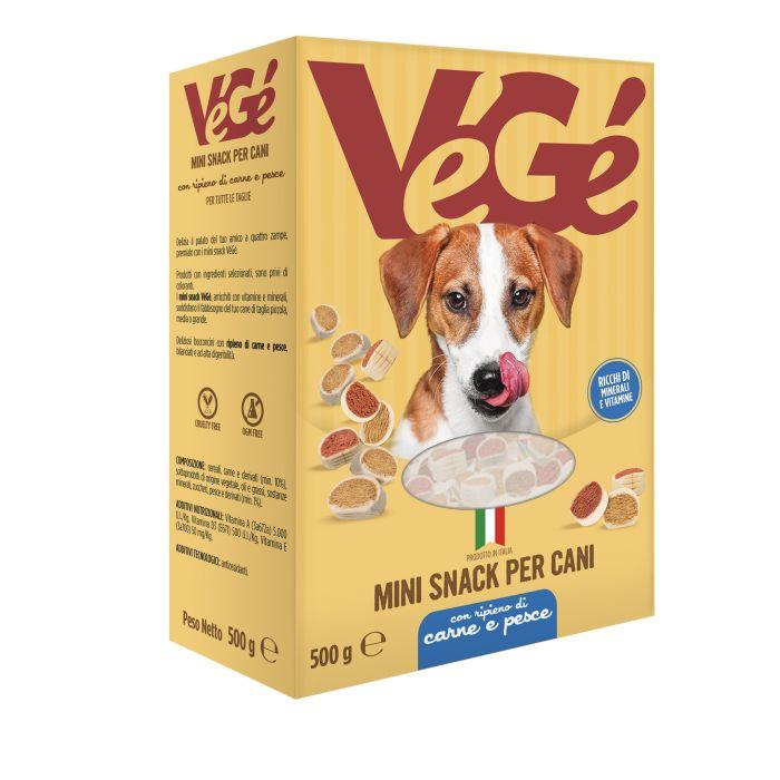 Mini snack per cani Vegé GDO (Grande Distribuzione Organizzata)