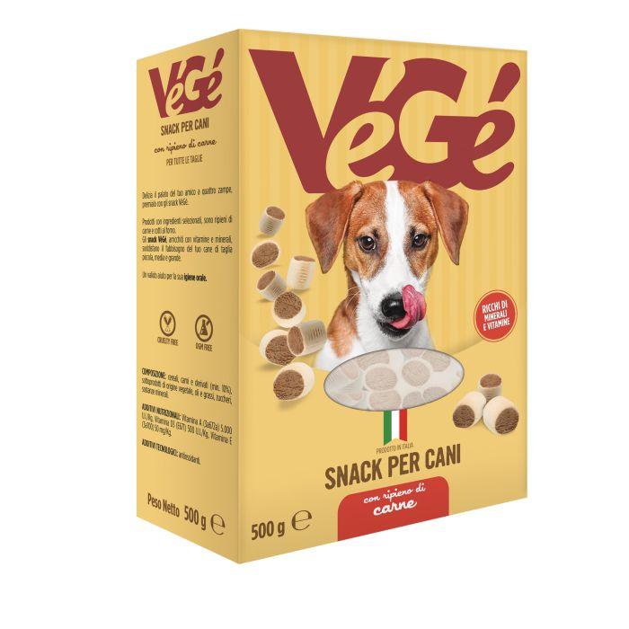 Snack per cani Vegé GDO (Grande Distribuzione Organizzata)